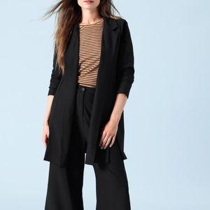 Eileen Fisher Washable Crepe Classic Long Jacket